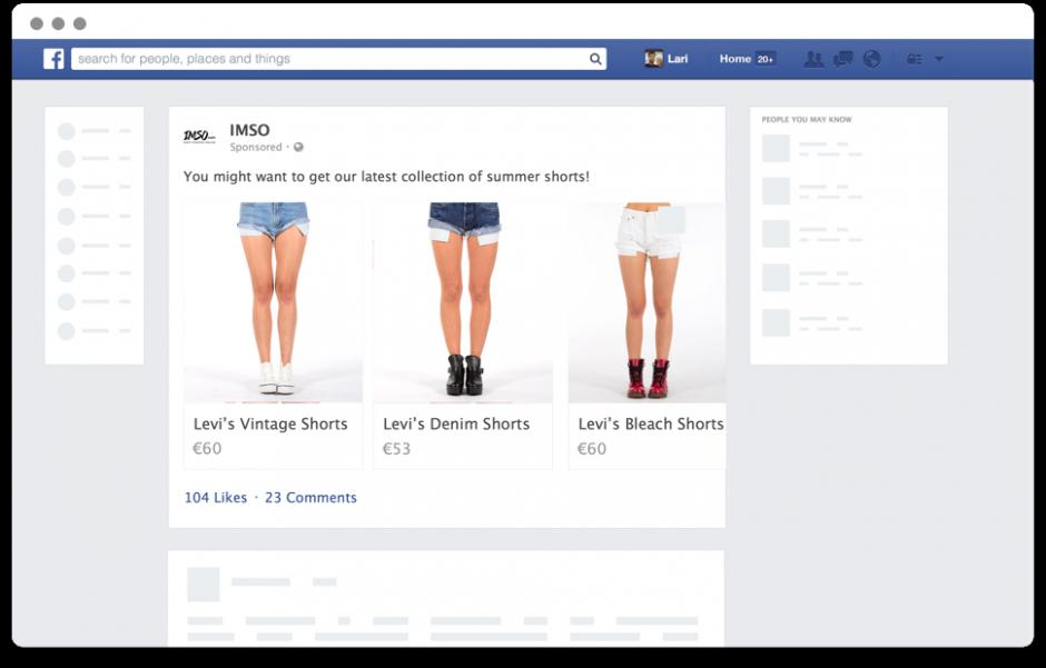 Facebook广告标题