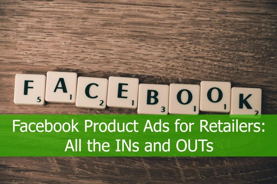 针对零售商的Facebook产品广告